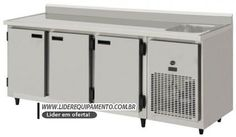 $3800 Balcão de Serviços Refrigerado 2000mts Com Cuba Kofisa