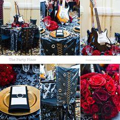 rocker wedding