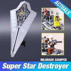 새로운 LEPIN 05028 스타 워즈 Execytor 슈퍼 스타 디스트로이어 모델 건물 키트 블록 벽돌 장난감 선물 호환 10221