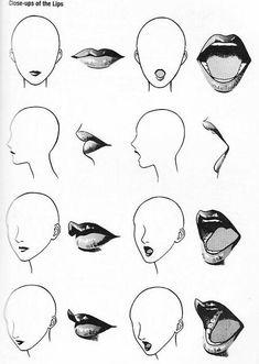 A Variety Of Mouths By Rachelfrasier On Deviantart Art Pinterest