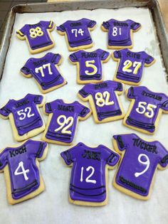 Baltimore Ravens Cookies