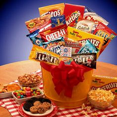 41 Best Junk Food Gift Baskets Images