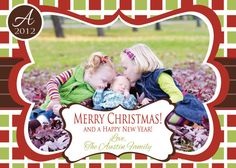 Christmas Card designs! Get a jpg and print as many as you want at your favorite photo lab. All the customization is done for you! Cheap way to get a custom card!