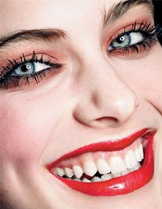 Richard Bush gets up close and personal with Pamela Bernier for 10 magazine's spring issue. If you thought the cover was good, then you will definitely enj Perfect Teeth, Perfect Smile, Beautiful Eyes, Simply Beautiful, Tooth Clipart, Tear Trough, Dental Cosmetics, Smile Design, Beauty Women
