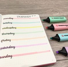 Bullet journal weekly spread ideas super simple
