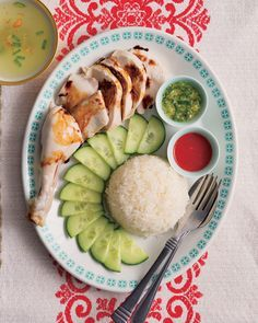 Hainanese chicken rice by Poh