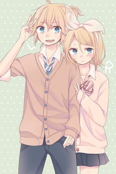 Read rin x len from the story Imágenes De Las Parejas Vocaloid by with 230 reads. ame esta imagen >w< Anime Chibi, Kawaii Anime, Manga Anime, Anime Art, Rin E Len, Kagamine Rin And Len, Hatsune Miku, Vocaloid Cosplay, Vocaloid Characters