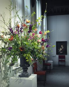 Flower Mania at the Frans Hals Museum, 20 March - 17 May 2015 #franshalsmuseum#tulpomania#flowermania