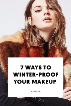 The best makeup for winter