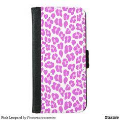 Pink Leopard iPhone 6/6s Wallet Case