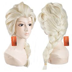 eNilecor Long Women's Movie Cosplay Princess Elsa Wig for Halloween Custom Cosplay Party Braids Hair Wigs (Light Blonde) eNilecor http://www.amazon.com/dp/B00WUCXDEG/ref=cm_sw_r_pi_dp_rwuvwb0Q6NR9Z