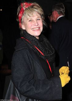 Younger than her years: Julie Christie looked much more youthful and did not appear as if she was really 71 while out in London on Wednesday