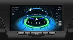 車載インフォテイメント(IVI)システムのUIデザイン - IVI System UI Design