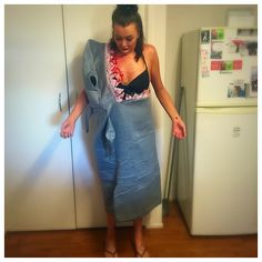 Lots of inspiration, diy & makeup tutorials and all accessories you need to create your own DIY Shark Attack Costume for Halloween. Plus Size Halloween, Hai, Diy Halloween Costumes, Fancy Dress, High Waisted Skirt, Skirts, Dresses, Instagram, Fashion