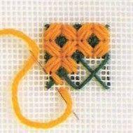 ::ARTESANATO VIRTUAL - Tecnicas de Artesanato | Dicas para Artesanato | Passo a Passo:: Cross Stitch Bird, Bargello, Crochet Squares, Plastic Canvas Patterns, Needlepoint, Needlework, Embroidery, Elsa, Mary