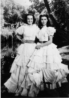 Scarlett O'Hara and her stand in