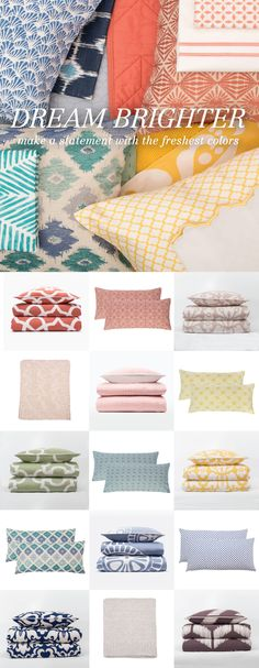 Say hello to luxury bedding in this season's freshest colors from Crane & Canopy — from silky-smooth duvet covers, luxury sheet sets, beautiful quilts and designer pillows. All designed to create the most luxurious bedroom for your modern home. As seen on the Today Show.