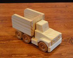 Items similar to Handmade Wooden Dump Truck, on Etsy Wooden Toy Trucks, Wooden Car, Hot Rod Trucks, Dump Trucks, Tow Truck, Metal Toys, Wood Toys, Wood Boat Plans, Sailboat Plans