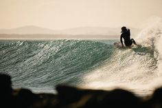Carties Winter Surf - Explore #2 by Luke Middleton., via Flickr