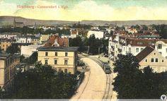 Ulica Wolności widok w stronę centrum Jeleniej Góry. Są to tereny dawnej osady Cunnersdorf.