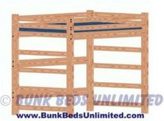 Loft Bed Plan Full Size Mattress Tall