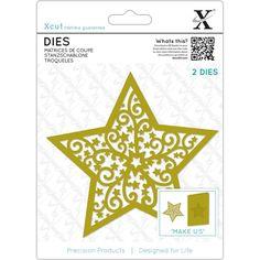 Xcut Decorative Die - Filigree Christmas Star