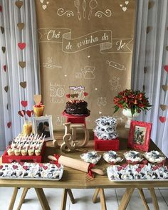 Simple Debut Ideas, Sweet Corner, Paper Table, 20th Birthday, Birthday Decorations, Open House, Tea Party, Bridal Shower, Sweet Home