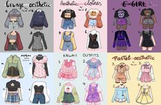Cute Art Styles, Cartoon Art Styles, Anime Drawings Sketches, Cute Drawings, Kleidung Design, Drawing Anime Clothes, Clothes Design Drawing, Clothing Sketches, Fashion Design Drawings