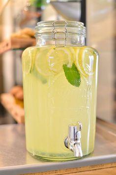 Citronnade maison Homemade lemon squash