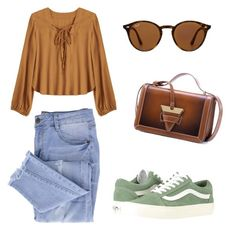 """""""Untitled #146"""" by joana-morais-i on Polyvore featuring Essie, Vans and Ray-Ban"""
