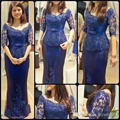 Royal Blue Prom Dresses Real Images Formal Appliques Lace Half Sleeves Sheath Satin Lady Evening Gowns 2017 Backless Ribbon Prom Gowns Victorian Prom Dresses Vintage Inspired Prom Dresses From Blissbridal, $122.24| Dhgate.Com