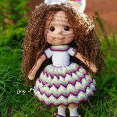 Amigurumi Angel Baby Free Pattern – Amigurumi Amigurumi Patterns, Amigurumi Doll, Crochet Patterns, Kawaii Crochet, Free Crochet, Crochet Tutorials, Crochet Crafts, Knitting For Kids, Free Pattern