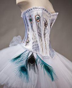 Peacock Corset Dress