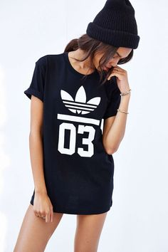 adidas Originals Trefoil Tee hip hop style wear urban dress street style 3 follow //UnitedNationz// for our latest Streetwear