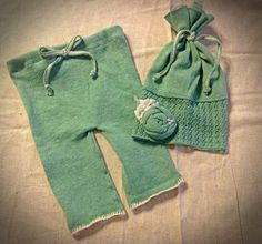 Newborn Girls Photo Prop Upcycled Sweater by FunkyJunkyPeacock, $18.99