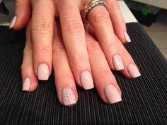 #nails #madebyme #retropink