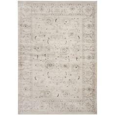 Safavieh Vintage Oriental Light Grey/ Ivory Distressed Rug (10' x 14')