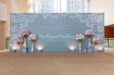 Wedding Decoration - DIY Backdrop 方法 - BLOG - littlemrsmak - ESDlife WOW