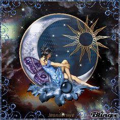beautiful moon fairies - Google Search