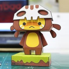 Bakumbaa is a character created by Thai designer Danai Seneesaowaluk and you will need only two sheets of paper to build yours. Bakum...