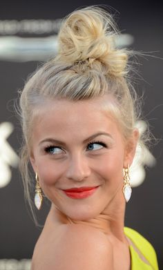 Julianne Hough Topknot
