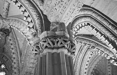 Lace made of stone. Rosslyn Chapel, Midlothian Scotland.