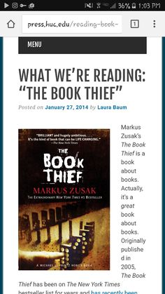 the book thief essay essay More essay examples on book rubric 1 who is the main character - the book thief essay introduction death narrates the life of liesel, the book thief in the middle of the holocaust, she finds herself all alone after a bomb attack claimed the lives of her parents and best friend.