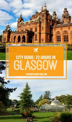 Scotland's most exciting city! http://toeuropeandbeyond.com/72-hours-in-glasgow/ #travel