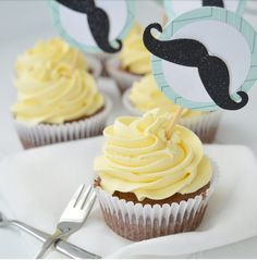 Oreo Cupcakes, Cute Cupcakes, Creme Cupcake, Cupcake Toppings, Bake My Cake, Cupcake Images, Blondie Brownies, Frosting, Muffins
