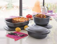 Who likes lasagna baked with Tupperware's Ultra Pro?