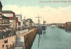 Postcards of Cork, Irish Famine, Erin Go Bragh, Cork City, Maps Street View, River Bank, Ireland Landscape, Cork Ireland, Dublin, Old Photos