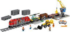 60098 - LEGO CITY Nehéz tehervonat