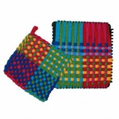 Potholder Loom Kit. Classic first weaving project for kids! $14.95