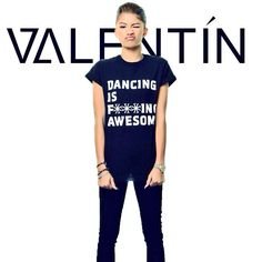 VALENTÌN x ZENDAYA x $TREETCOUTURE   #valsterisk  ONLY A FEW TEES LEFT, GET YOURS AT   http://VALENTINnyc.com  pic.twitter.com/yKfeCww2fk